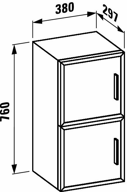 Шкаф laufen case